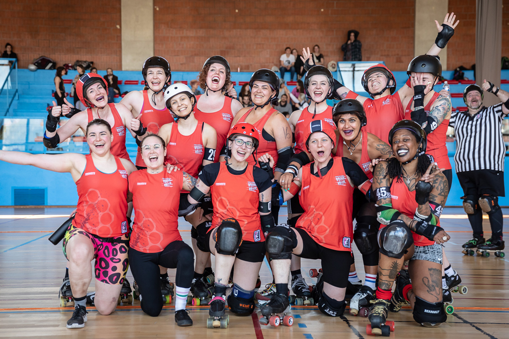 London Rockin Rollers Allstars Roller Derby Team